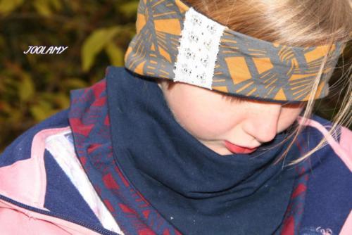 Dagmar - Joolamy - Stirnband und Halslatz - Jersey