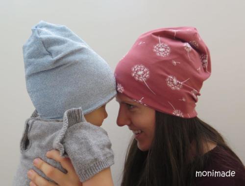 Moni Del - monimade - Beanie - Jersey und Baumwollfleece