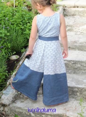 Kerstin - Kenihaluma- Leinen und Baumwolle Stoffmix