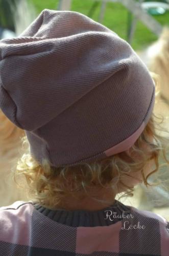 Annika Urschel - RäuberLocke - Beanie - Innen Jersey Aussen Strick