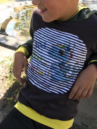 Doppellagig jersey Sabä's Handarbeitswäut