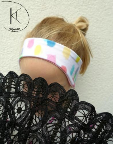 Alex Preimes - Knips & Ab - Stirnband mit Ohren - doppellagig Jersey