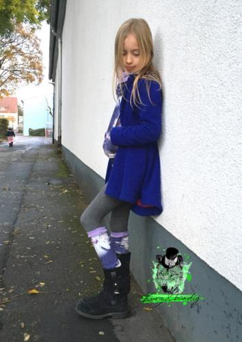 Laura Kurz - Kurz&bündig- Jersey - Kinderstulpen und Halssocke