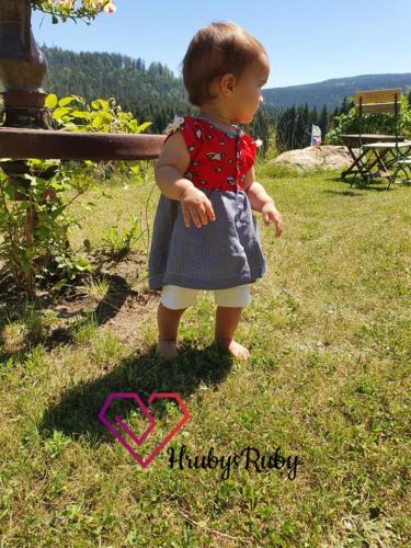 Hannah Hruby - HrubysRuby - Cord und Viskose webware