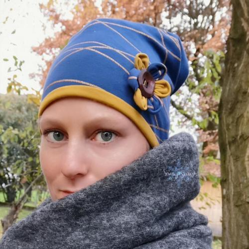 Stephie Schneeweis SewingSnowy Multifunktionsbeanie aus 2 Lagen Sommersweat