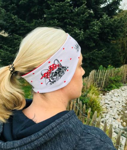 Sina Zieten Hardys World EST. 2018 Stirnband Jersey doppellagig