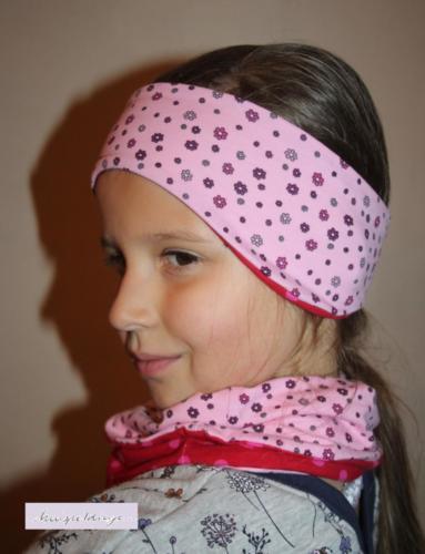 Alexandra - knispeldinge. - Jersey - Halssocke und Stirnbandohreningsie