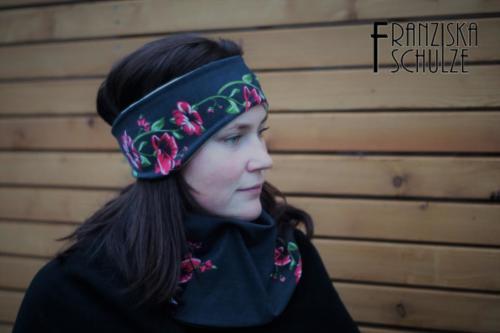 Franziska Schulze - https www.instagram.com fraschulze - Halslatz für Erwachsene & Stirnband
