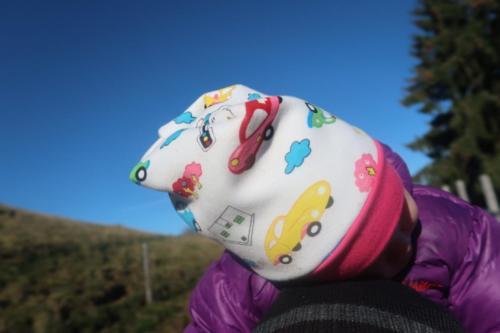 Stefanie Koch Koch näht Beanie normal einfach mit Bündchen Kuschelstoff
