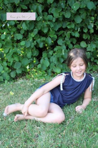 Alexandra - knispeldinge. - slub jersey
