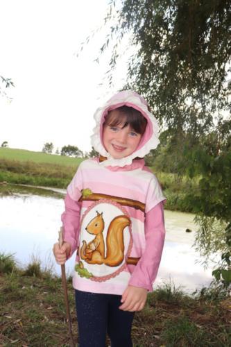 Sabine Groschopp- Bienes Zaubernadel. Jersey und Sweat